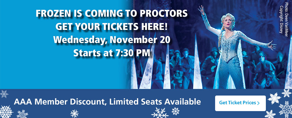 Frozen TIckets @ Proctors