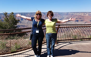 Lynne and Jennie Grand Canyon 2013 pic