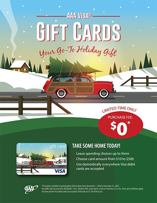 No Purchase Fee GIft Card Promo